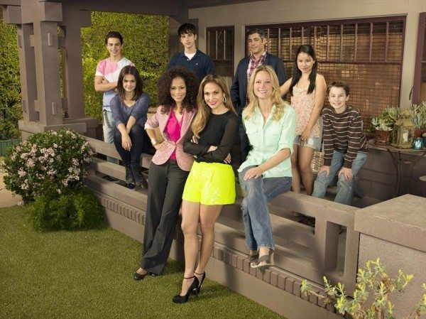 "JAKE T. AUSTIN, MAIA MITCHELL, SHERRI SAUM, DAVID LAMBERT, JENNIFER LOPEZ (EXECUTIVE PRODUCER, ""THE FOSTERS""), DANNY NUCCI, TERI POLO, CIERRA RAMIREZ, HAYDEN BYERLY"