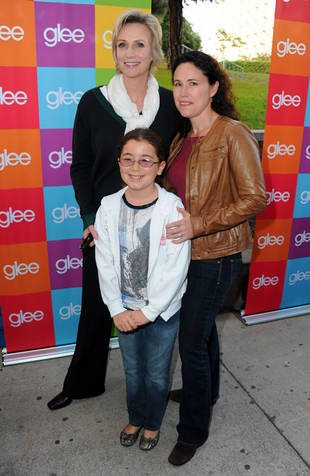 jane lynch familia