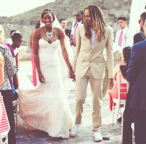 Griner-Johnson-wedding