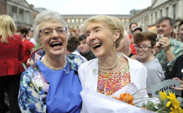 Image: Ireland Holds Referendum On Same Sex Marriage Law