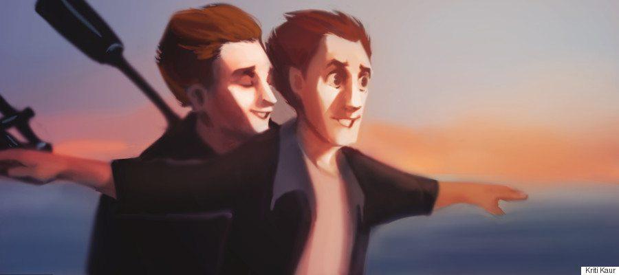 TITANIC gay