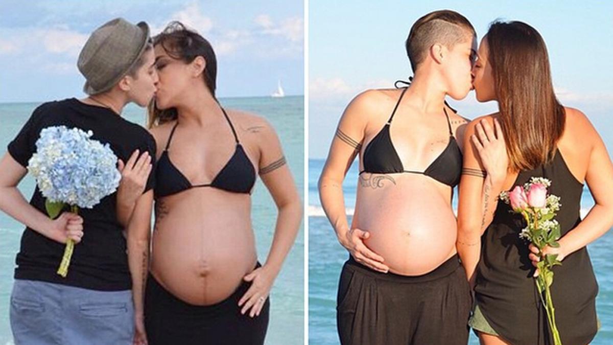 lesbianas embarazadas