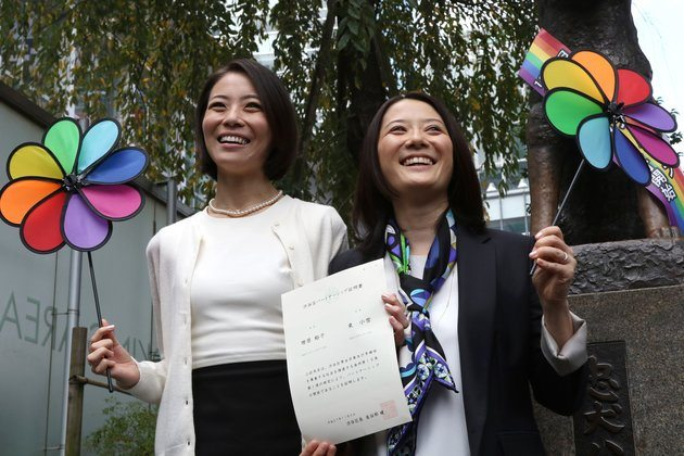 JAPAN-GAY-MARRIAGE-PARTNERSHIP