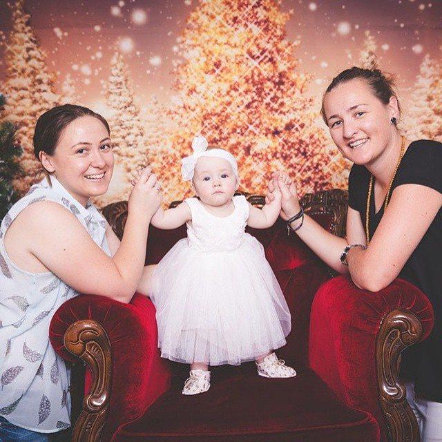 familia lesbiana navidad