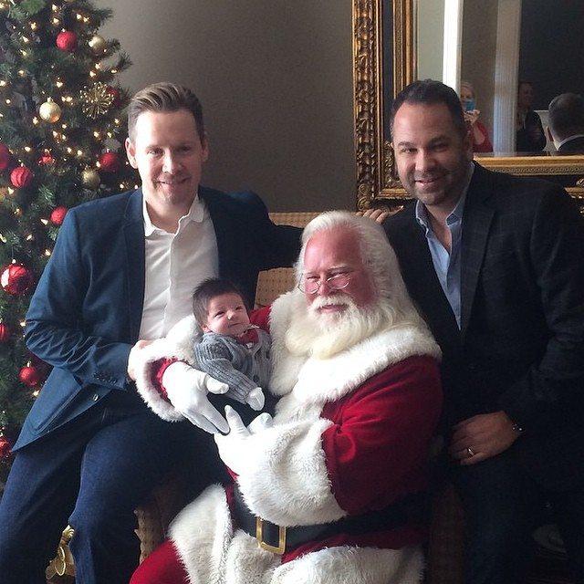 navidad padres gays