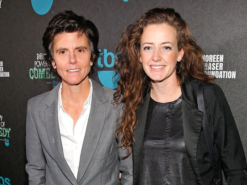 LOS ANGELES, CA - DECEMBER 11:  Actresses Tig Notaro (L) and Stephanie Allynne attend Variety's 5th annual Power of Comedy presented by TBS benefiting the Noreen Fraser Foundation at The Belasco Theater on December 11, 2014 in Los Angeles, California.  (Photo by Jonathan Leibson/Getty Images for Variety)