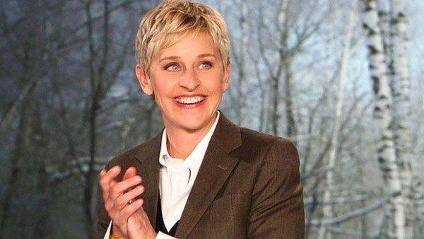 La presentadora y actriz Ellen Degeneres