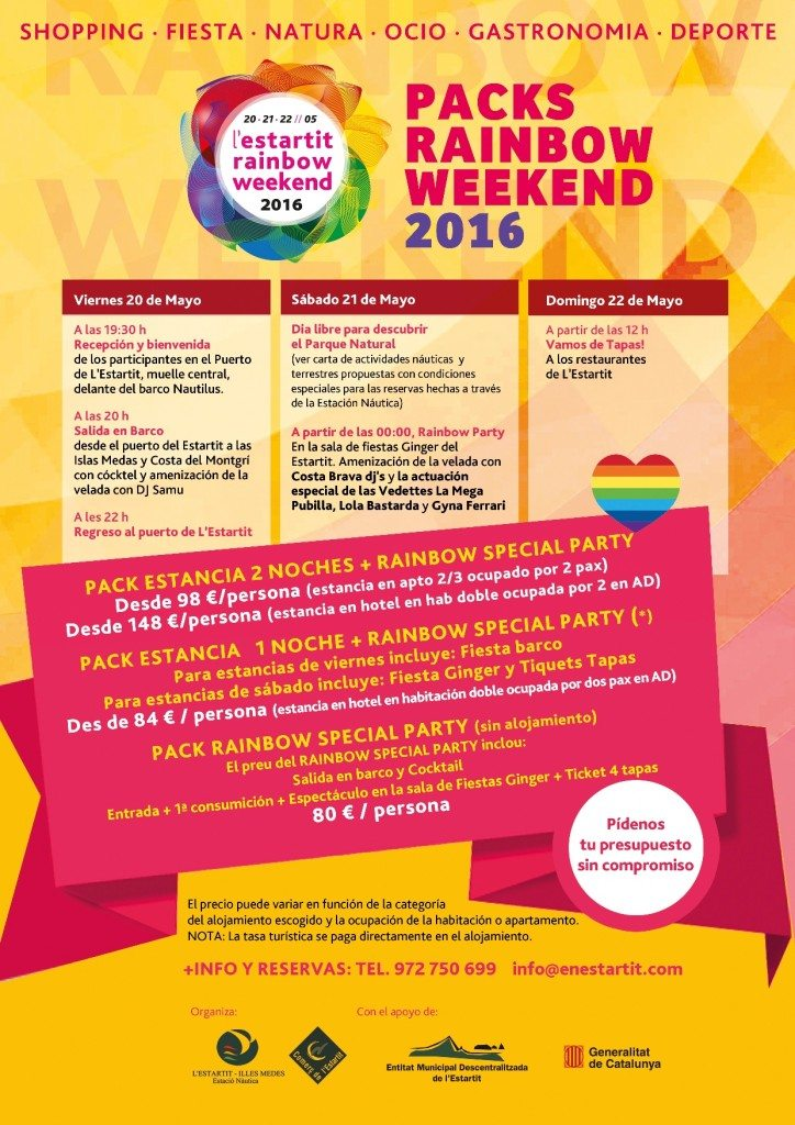 rainbow weekend
