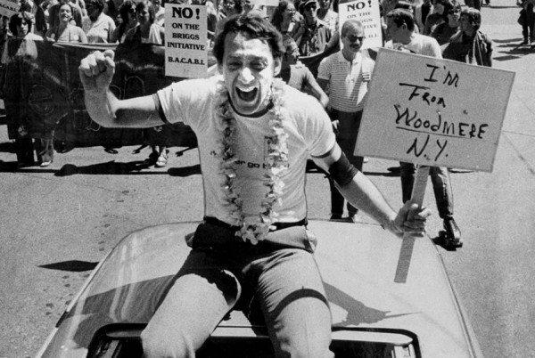 Harvey Milk en el Orgullo