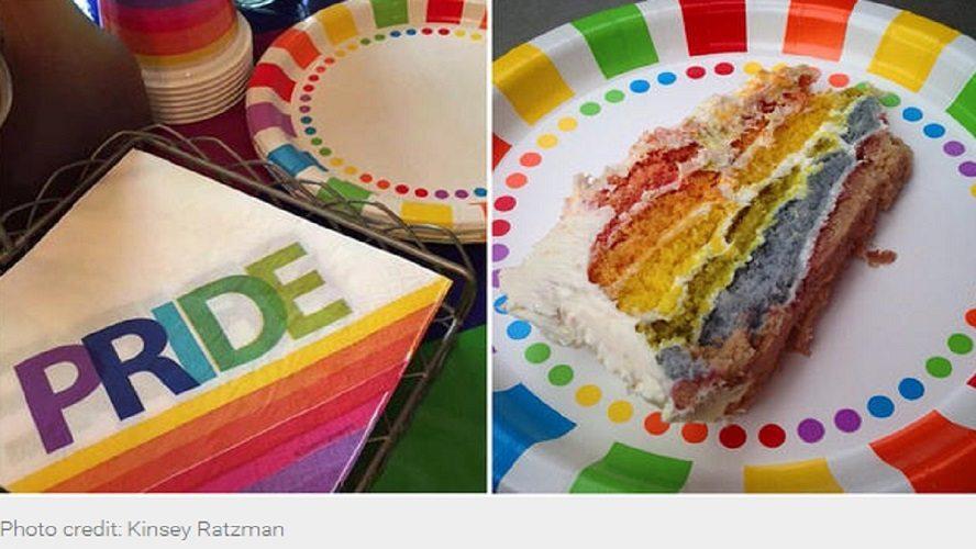 tarta de salida del armario