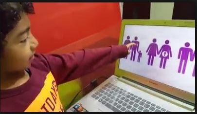 La hermosa explicación de un niño sobre lo que es una familia que ha emocionado a las redes
