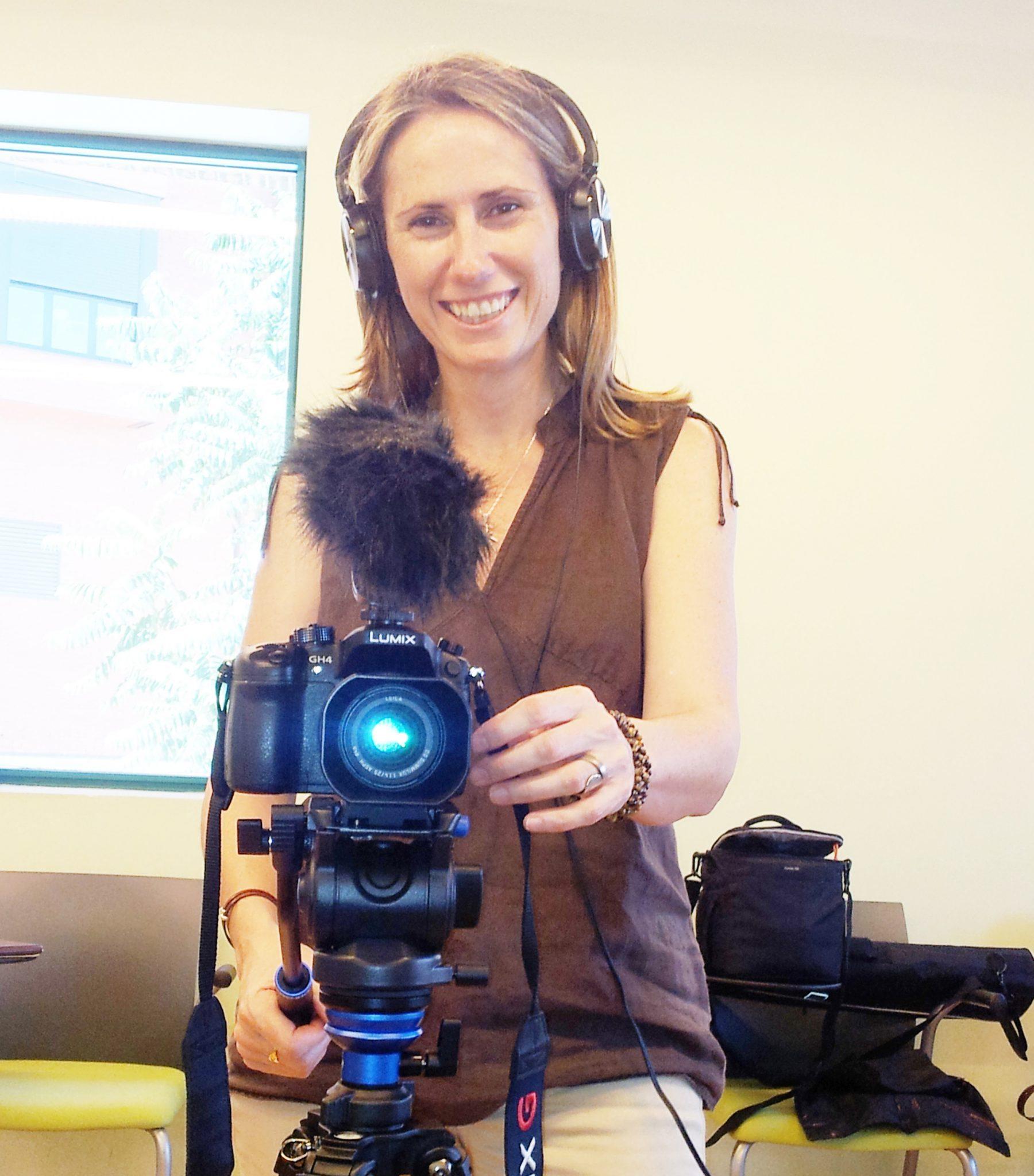 Gema Sanz, directora del documental