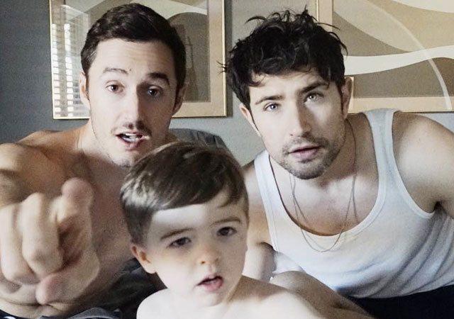 Matt Dallas familia