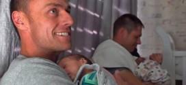 Primer caso en el mundo. Nacen trillizos que llevan el ADN de sus dos padres gais