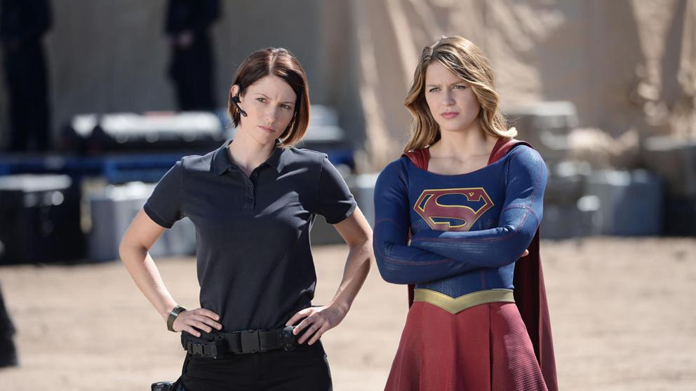 Alex Danvers y Supergirl