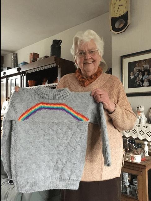 abuela apoya a nieta bisexual