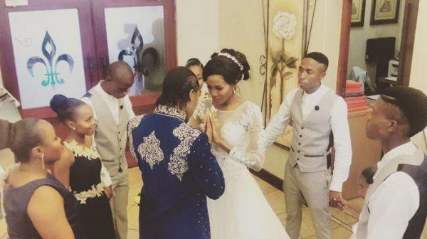 Una de las imágenes de la boda subida a Instagram