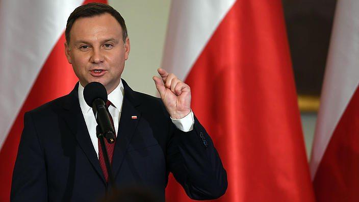 Polonia andrzej duda