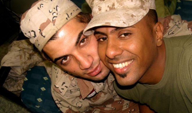 soldados enamorados guerra irak