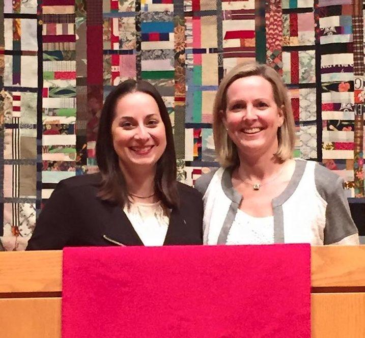 Sally Sarrat y María Swearingen