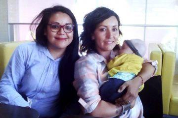 Verónica Tejada y Karina Ibarra