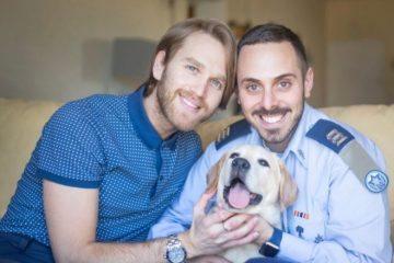 pareja gay ejercito israeli