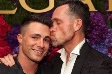 Colton Haynes y Jeff Leatham
