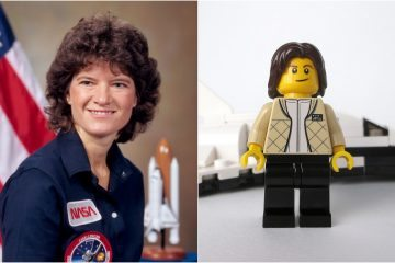 Sally Ride Lego