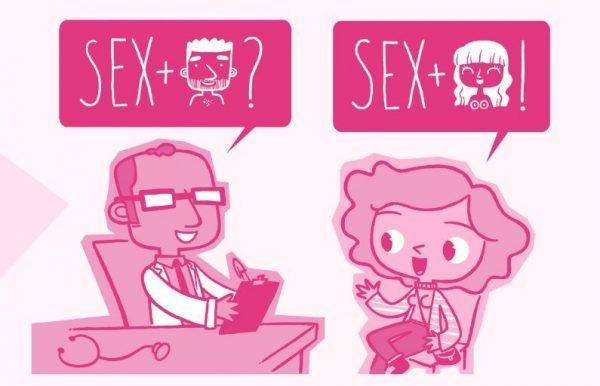 triángulo sexo seguro
