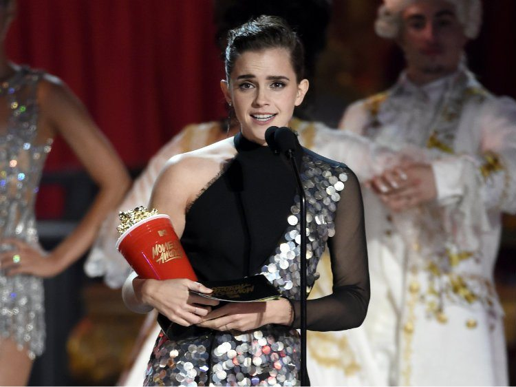 emma watson premios MTV