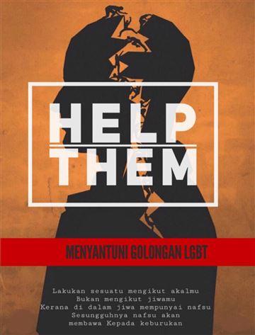 """Un ejemplo de los carteles destinados a """"ayudarnos"""""""