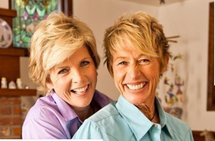 Meredith Baxter y Nancy locke