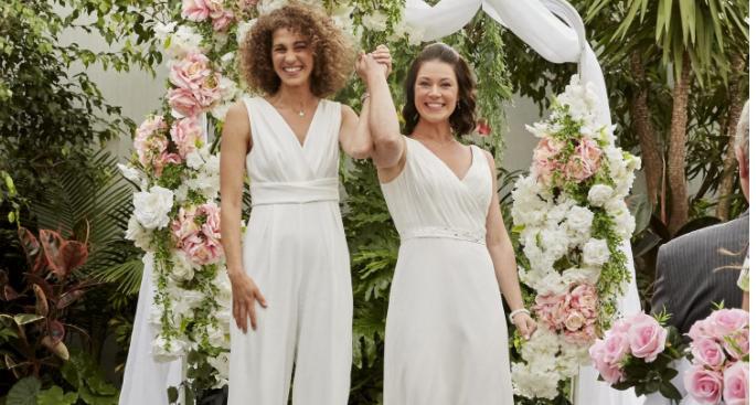 primera boda lesbica hallmark