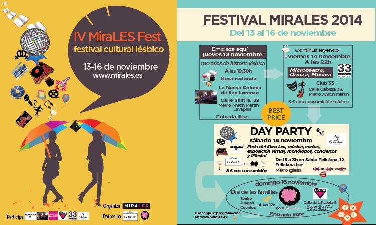 IV festival de ocio y cultura lesbica