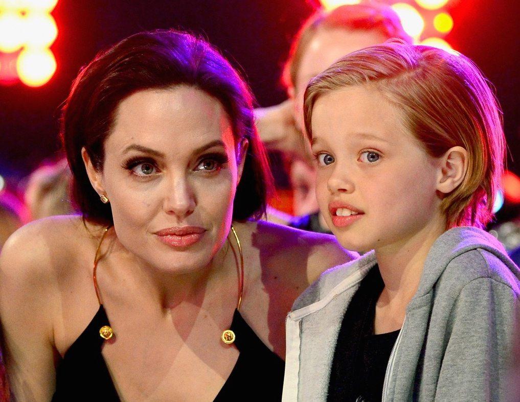 Angelina Jolie y Shiloh