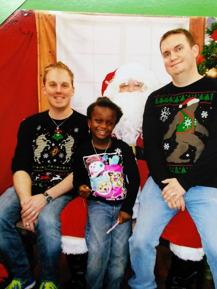 padres gays navidad