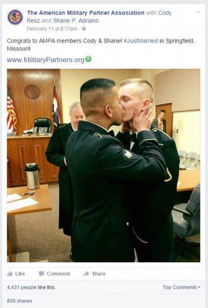 militares gays