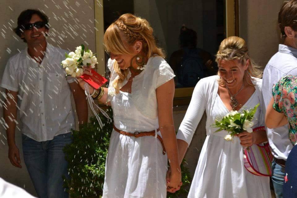 boda de lesbianas argentinas