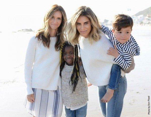 madres lesbianas jillian y heidi