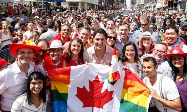 El primer ministro en pleno Orgullo