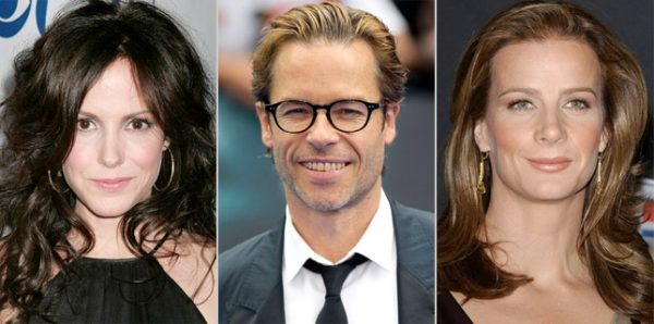 Mary-Louise Parker, Guy Pearce y Rachel Griffiths
