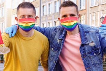 mascarillas bandera LGTB polonia